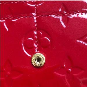 Louis Vuitton Bags - Louis Vuitton red patent leather wallet